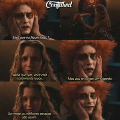 Alice no pais das maravilhas Mia Wasikowska, Motivational Phrases, Power To The People, I Can Do It, Positive Words, Disney Dream, Series Movies, American Horror Story, Johnny Depp