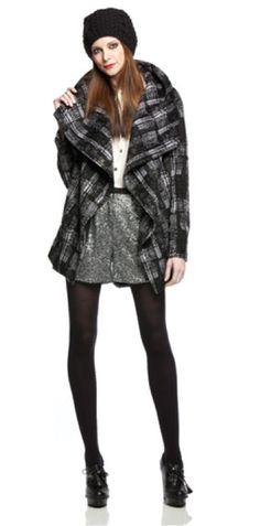 Funktional Shawl Collar Coat - Outerwear - Estilo...love mine!!! Ready for fall/winter!!!