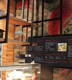 Noodle & Dumpling Canteen by Archizone, Sydney store design