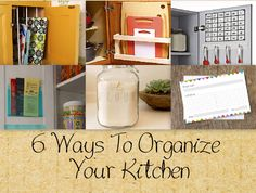Prev1 of 8Next I am always looking to organize and optimize the space in my home. A big problem that I face is limited amount of cabinet and pantry space. So, Iwent looking for clever and inexpensive solutions that could really make a big impact. Check out these six, brilliant ideas! Hopefully, you can put …