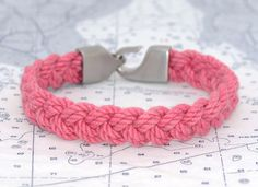 Lemon & Line Limited Edition Turks Head Bracelet: Sunset