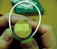 Part Two: Make a Custom Reticulated Silver Cabochon Bezel - Jewelry Making Daily - Blogs - Jewelry Making Daily