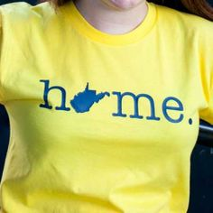 Home (WV Outline)  I WANT ONE, just not in WVU colors.