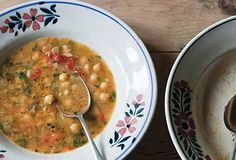 Smoked Paprika and Chickpea Soup -- make it in your slow cooker or on your stove top.