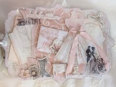 Prima Debutante Baroque Mini Album by Anne Rostad