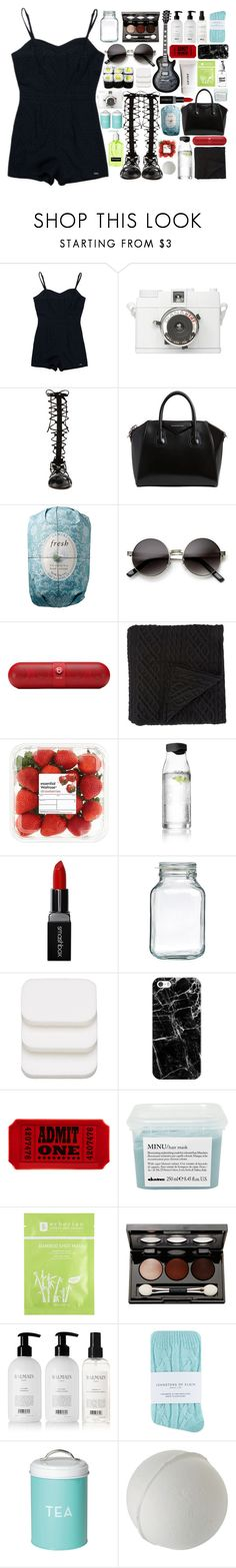 """""""head in the clouds"""" by cj-churchill ❤ liked on Polyvore featuring Superdry, Raye, Givenchy, Fresh, ZeroUV, Beats by Dr. Dre, Morgan Collection, Gibson, Menu and Smashbox"""
