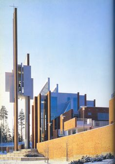 Church in Mikkeli by Leiviska
