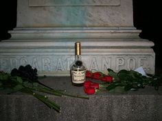 The roses and half-empty bottle of cognac were left at Edgar Allan Poe's grave by the mysterious Poe Toaster. Will the Toaster ever come back to continue the tradition?