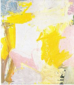 The very first #painting I ever fell in love with. Rosy Fingered Dawn at Louis Point by Willem #DeKooning.