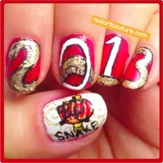 ! ★Nail Art Couture★ !: #Chinese New Year Nails: Snake
