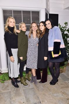 Pin for Later: Gwen Stefani and Katy Perry Maybe Just Formed Their Own Scorned Women's Club  Pictured: Nicole Richie, Katy Perry, Jennifer Meyer, and Kelly Sawyer Patricof