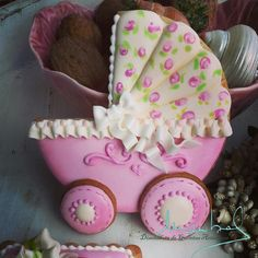 Cookies de dulce, royal icing, baby shower