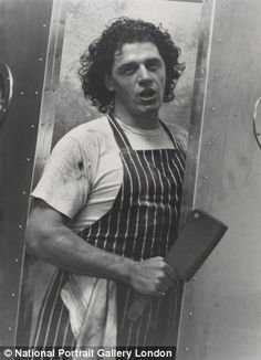 Marco Pierre White pictured by Bob Carlos Clarke