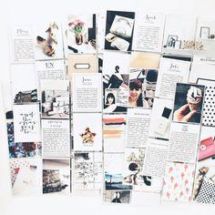 copperandgold.de   ines   project life catch up Scrapbook Journal, Scrapbook Page Layouts, Travel Scrapbook, Scrapbook Albums, Project Life, Album Photo, Photo Book, Pocket Scrapbooking, Life Inspiration