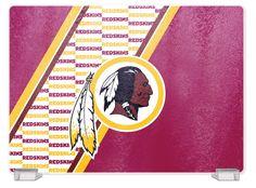 Washington Redskins Tempered Glass Cutting Board