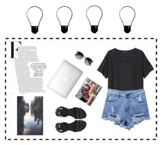 """💡"" by cilka-nedbalova on Polyvore featuring Monki, ASOS and Ace"