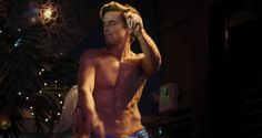 Matt Bomer Is Ready To Dig Into Some Fried Chicken… As Soon As He Puts His Shirt Back On After Magic Mike XXL