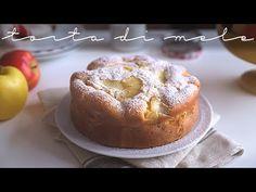 MORBIDONA: SOFFICISSIMA TORTA DI MELE SENZA BURRO | ricetta facile e veloce - YouTube Sweet Recipes, Cake Recipes, Sweet Cakes, Apple Pie, French Toast, Cheesecake, Muffin, Pudding, Tasty