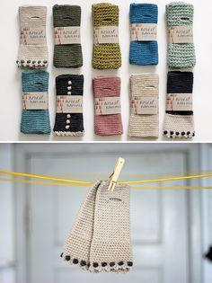 crochet wrist worms