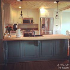 Glazed Kitchen Cabinets-Instagram Pic