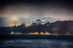 "ahguzelistanbul: "" İstanbul By bernasibiroglu "" Love Home, Istanbul Turkey, Earth, Building, Travel, Viajes, Buildings, Destinations, Traveling"