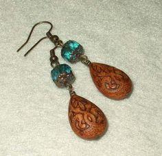 morrocan spice market .earrings . by AuntVestas on Etsy