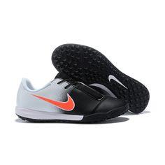 bfbbc3020a Vente en ligne Soldes Nike Phantom Venom TF Chaussure De Sport Noir  Blanche. Nike Shoes