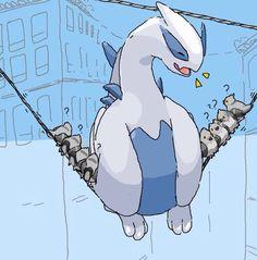 Pokemon Lugia cute