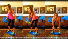 Simply Fit Board ~ 10 Minute Back Workout