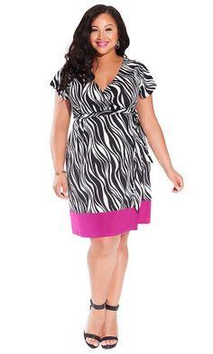 IGIGI Women's Plus Size Geneva Wrap Dress in Zebra 14/16 IGIGI http://www.amazon.com/dp/B00KQGNGG8/ref=cm_sw_r_pi_dp_rd24ub0JC16DS