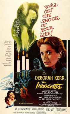 The Innocents is a 1961 British supernatural gothic horror film directed and produced by Jack Clayton, and starring Deborah Kerr, Michael Redgrave and Megs Jenkins. Description from pinterest.com. I searched for this on bing.com/images