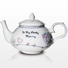 £22.66 beautiful personalised teapot for your mother for mothers day!