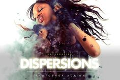 Dispersions Photoshop Action  @creativework247