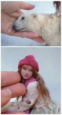 :iconpixiwillow:  doll and bear sculpture detail by ~pixiwillow  Traditional Art / Sculpture / Fantasy©2008-2012 ~pixiwillow