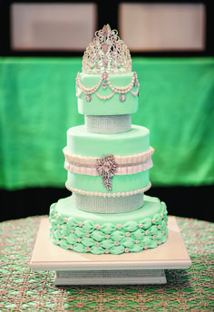 Quince or Sweet 16 cake ~ nice!