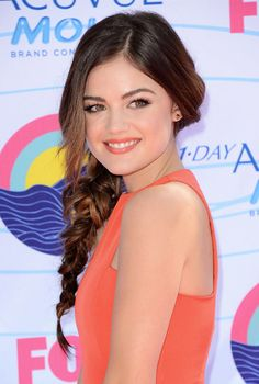 Lucy Hale - Teen Choice Awards 2012 – Best Dressed! | Color Addicts!