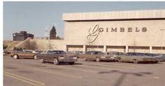 Vintage Pittsburgh, Pennsylvania - Gimbels Monroeville Mall