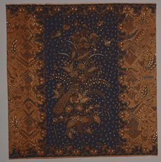 Indonesian Batik Tulis  Made in early 20th century  Created in Java dfacaf8f0d