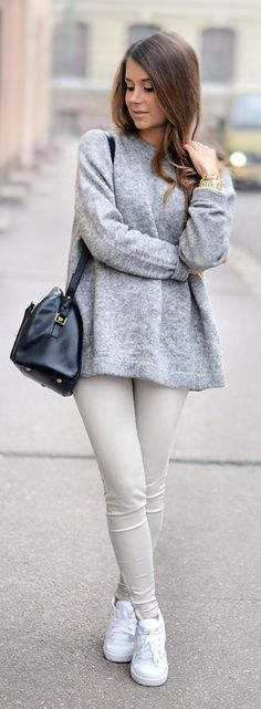 Looks de inverno com cores claras