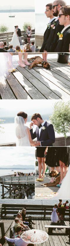 Comox Valley Wedding Ceremony Photography