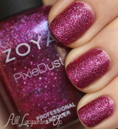 Zoya Arabella PixieDust nail polish 500x547 Zoya Fall 2013 PixieDust Nail Polish Swatches & Review
