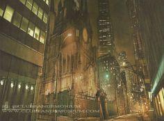 Scenery, city of bones film,