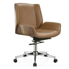 Heavy Duty Leather Operators Chair Cashier Chair with adjustable height - China Foshan Staff Office Chair & Computer Seating Factory
