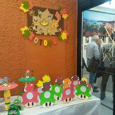 Xermoliño do Manuela na exposición micolóxica Birthday Cake, Desserts, Food, Tailgate Desserts, Deserts, Birthday Cakes, Essen, Postres, Meals