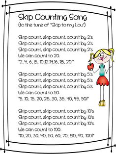 Hello Everyone!  We are working hard this week on skip counting. I decided I needed to put together some math tub activities for next week. ...