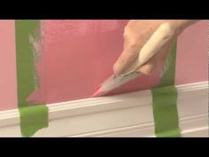 How To: Add Stripes to Your Child's Room with Benjamin Moore Natura® Paint