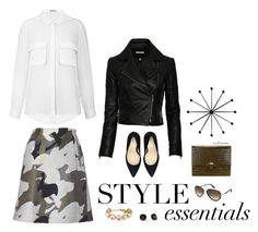 """""""Minimal Style"""" by archimedes16 ❤ liked on Polyvore featuring J Brand, J.Crew, Tom Ford and Kate Spade"""