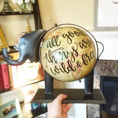 At long last elephant globes are live in the shop! Only 2 available right now so if you've been waiting run!
