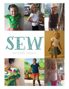 21100 Fun Tee by SewbyPatternPieces on Etsy Girls Fun, Sewing Clothes, Cool Tees, Cool Girl, Girl Outfits, Trending Outfits, Unique, Handmade Gifts, Pattern