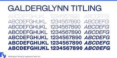 Galderglynn Esquire Font | dafont.com